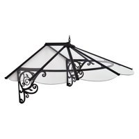 Palram Lily Victorian 6' x 4' Door Awning