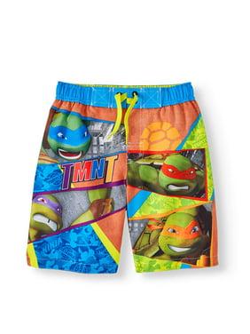 Product Image Turtle Power Swim (Little Boys). Teenage Mutant Ninja Turtles ada14b00e7f7