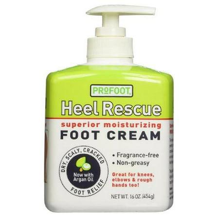 Profoot talon Rescue Superior Hydratante Crème Pieds 16 oz (Pack de 6)