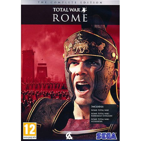 Rome Total War Complete Edition (3 PC Games) includes the original Total War, Barbarian Invasion and (D Day World War Ii Invasion Game)