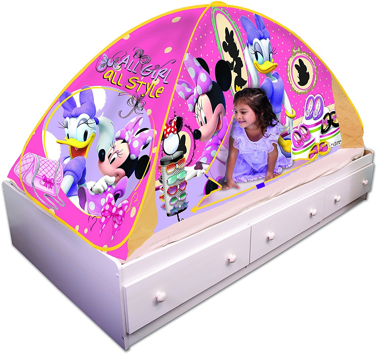 Playhut Minnie Mouse Bed Tent Playhouse by Playhut, Inc.
