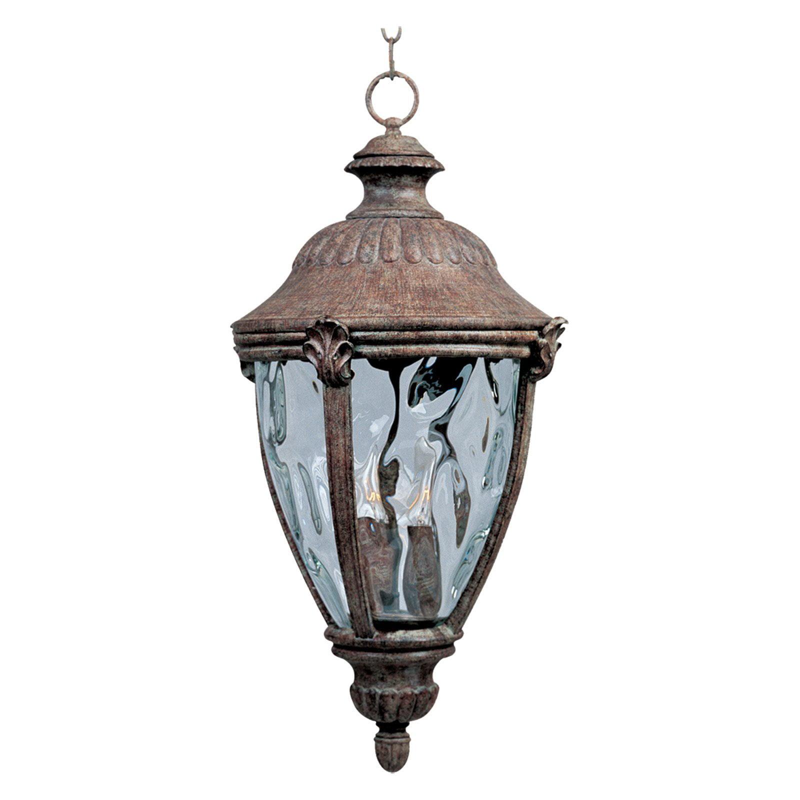 Maxim 40291WGET Morrow Bay VX Outdoor Hanging Lantern - 10.5W in. Earth Tone