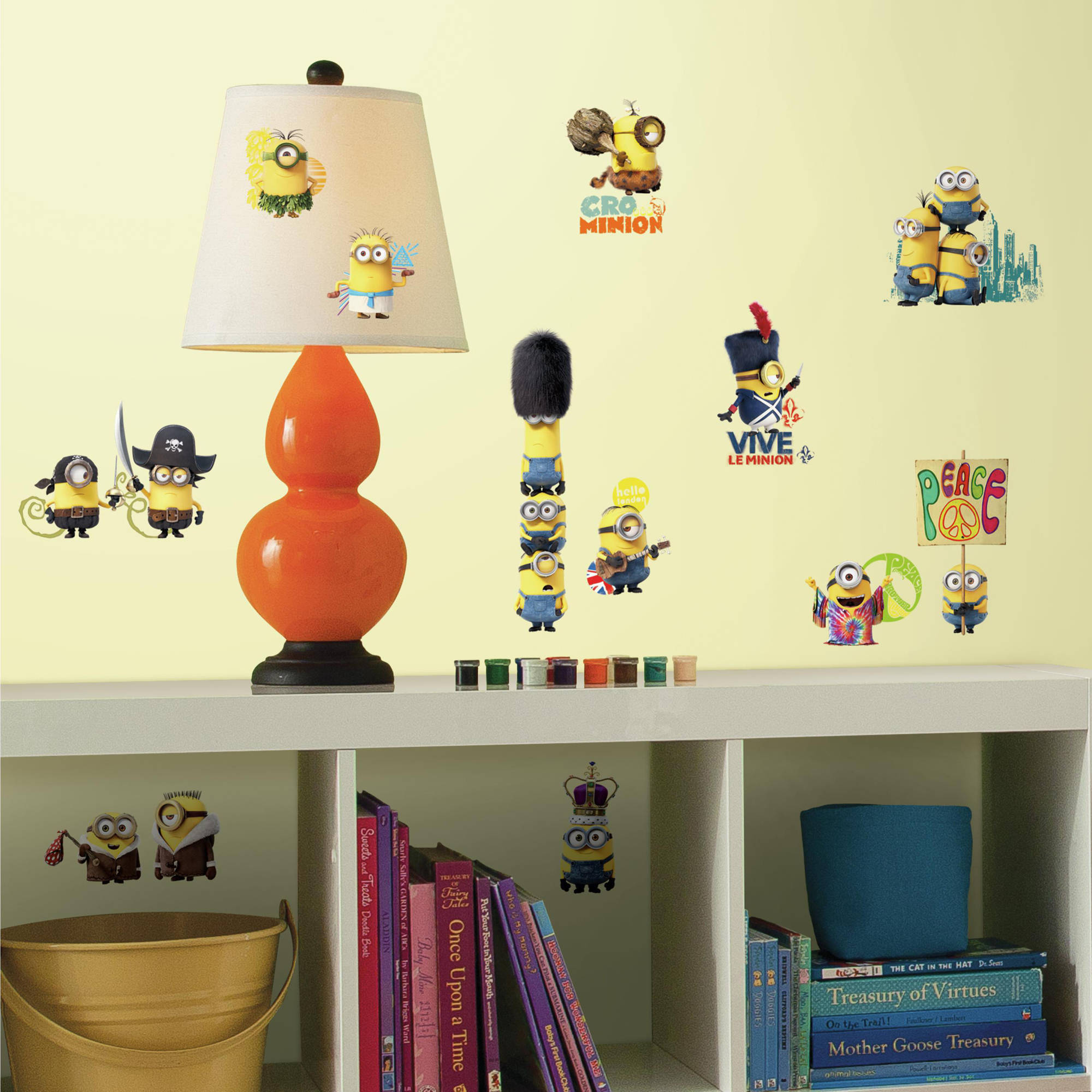 RoomMates Minions The Movie Peel and Stick Wall Decals - Walmart.com