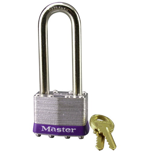 Master Lock 1DLJ Laminated No. 1 Long Shackle Padlock by Master Lock