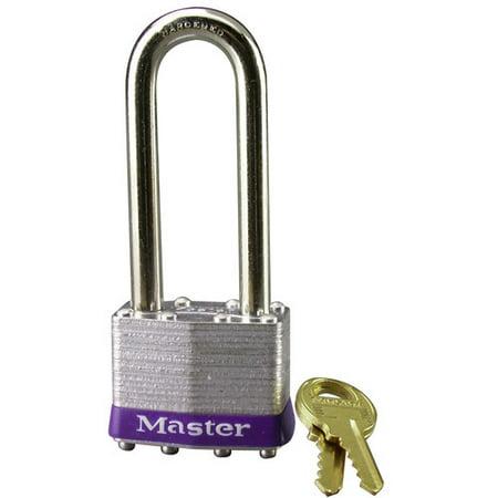 Master Lock 1DLJ Laminated No. 1 Long Shackle - 1 Padlock Master