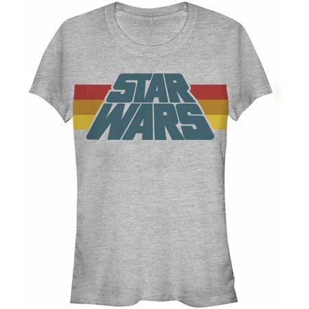 Star Wars  Slant Logo Stripe - Heather Girls Jr Athletic](Girl Star Wars Characters)