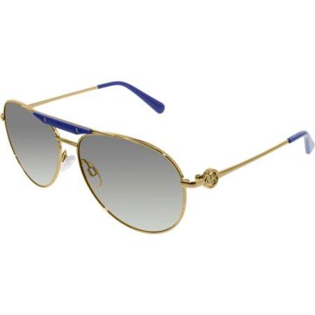 MK5001 Zanzibar - Gold 58-14-135 mm Sunglasses - Zanzibar Leather