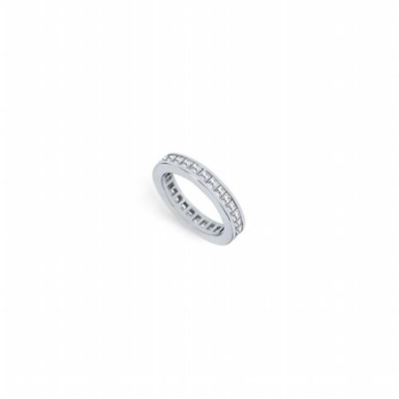 Fine Jewelry Vault UBPTSQ200D160-2-101RS5.5 2 CT Platinum Diamond Eternity band Second Wedding Anniversary Ring Eternity Ring - Size 5.5