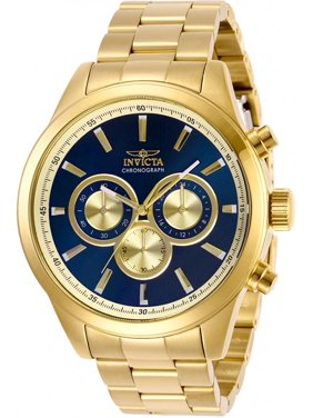 Invicta Men's 29175 Specialty Quartz Chronograph Blue Dial Watch