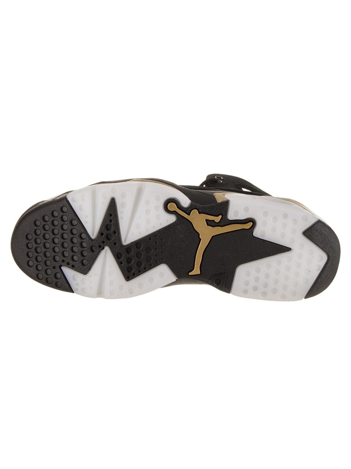 Mens Air Jordan Flight Club 91 Black White Metallic Gold 555475-031