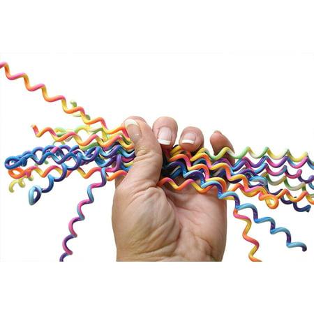 12 Large Pencil Coil Wraps - Sensory Fidget Toy for Students, Adults and Children Office Calming - Pencil Fidgets