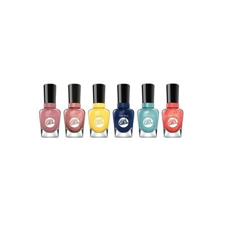 Sally Hansen Nail Colors (Sally Hansen Miracle Gel Summer Bright Shades Nail Polish Set )