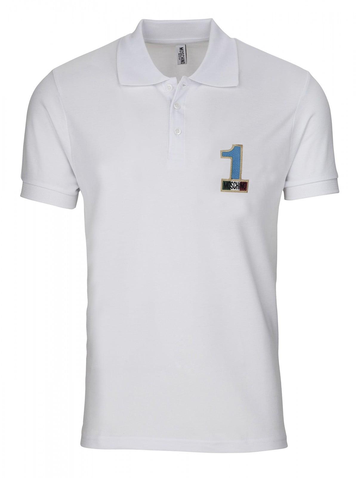 MOSCHINO Swim Mens #1 Polo Shirt