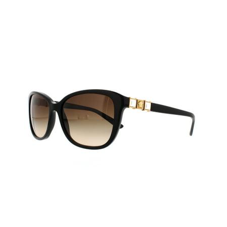 d8aec4cd0add Versace - VERSACE Sunglasses VE 4293B GB1 13 Black 57MM - Walmart.com