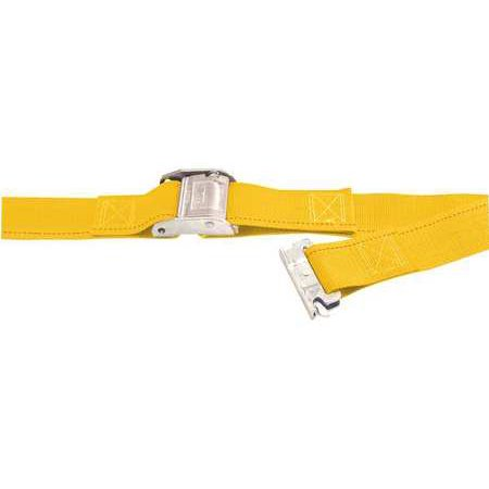 - KINEDYNE 651201GRA Logistic Cam Buckle Strap,12ftx2In,835lb