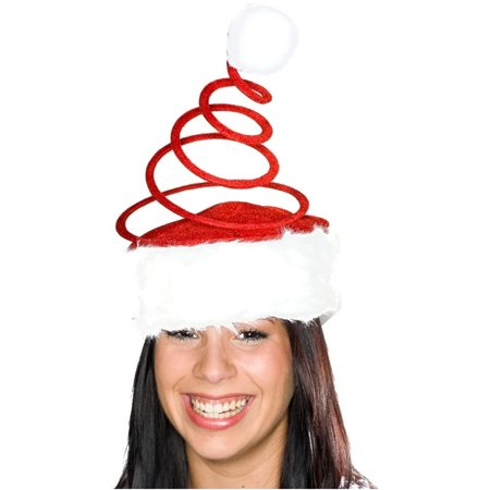 Red Coil Santa Hat - Santa Hat Eps