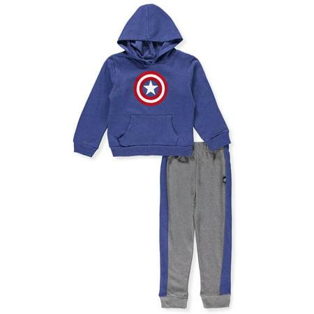 Captain America Boys' 2-Piece Pants Set Outfit - Captain Caveman Outfit