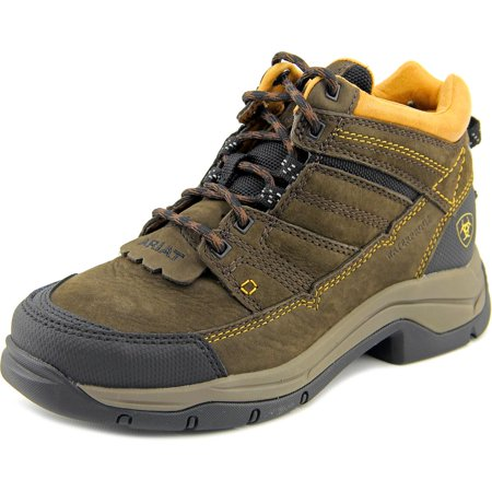 Ariat terrain pro h2o Women  Round Toe Leather Brown Hiking Boot