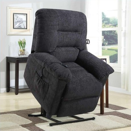 Coaster Power Lift Recliner Chair With Remote Control In