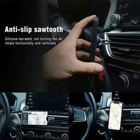 Car Navigation Air Outlet Mobile Phone Bracket 360 Rotating Car Phone Holder - image 7 of 7