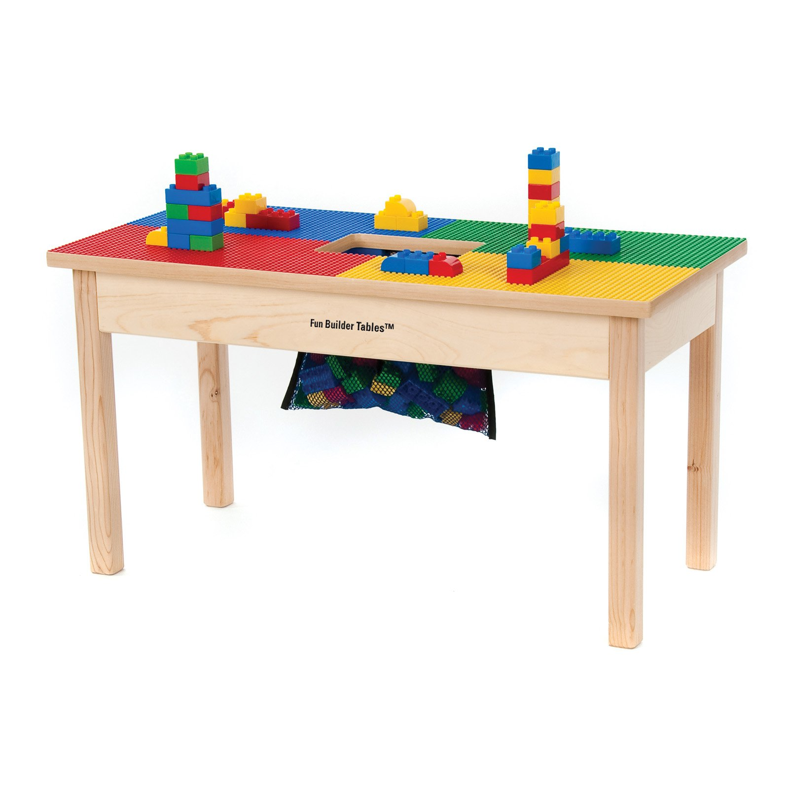 Synergy Fun Builder 16 x 32 in. Building Block Table
