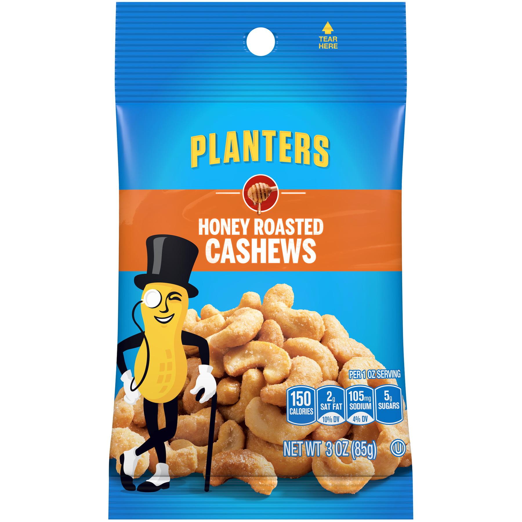 Planters Cashews Honey Roasted, 3.0 OZ