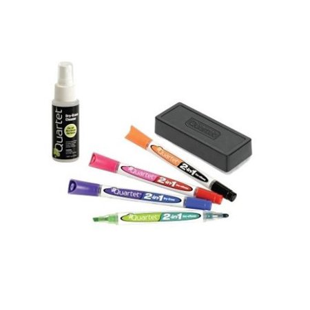 Quartet Dry Erase Marker Kit Low Odor Non Toxic Walmartcom