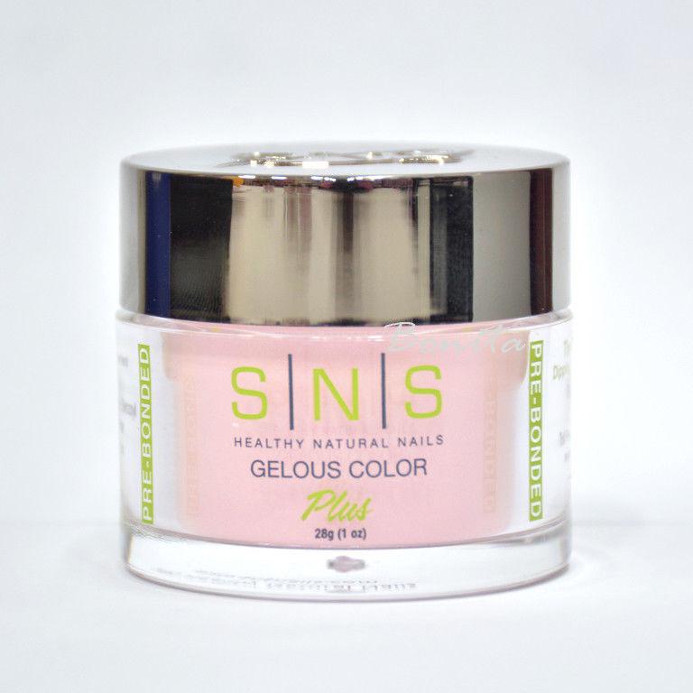 SNS Gelous Color Dipping Powder No Liquid, No Primer, No UV Light NOS06 1 oz
