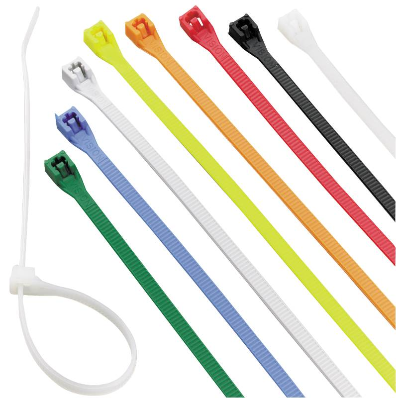 CABLE TIE 8IN ASST COLOR