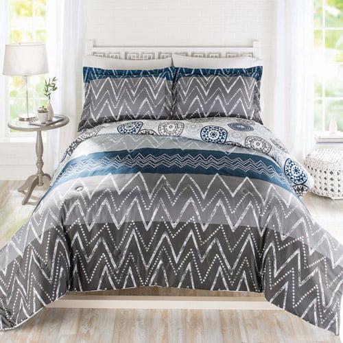 Better Homes And Gardens Zig Zag 3-Piece Bedding Comforter