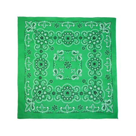 27 Inch Extra Large Cotton Texas Paisley Bandana - Custom Bandana