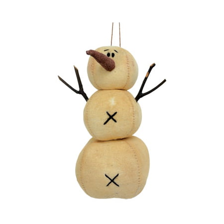Stacked Snowman Ornament - Large (Snowman Stack)