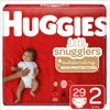HUGGIES Little Snugglers Diapers, Size 2, 29 Count