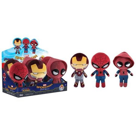 Funko Plushies  Marvel   Spiderman Homecoming 6Pc  One Figure Per