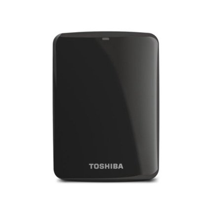 Refurbished Toshiba HDTC810XK3A1 Canvio Connect II 1TB Portable Hard Drive,