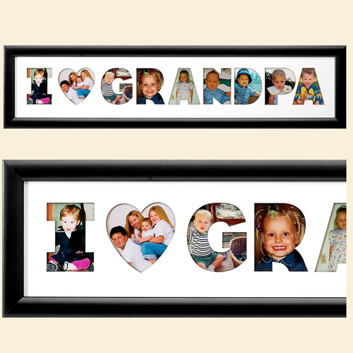 Personalized I Heart Name Photo Collage