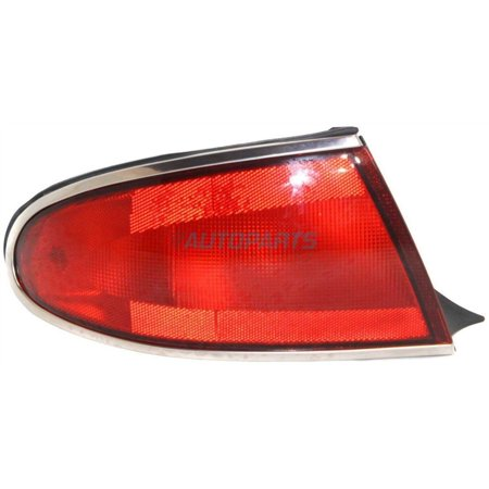 NEW TAIL LAMP LENS AND HOUSING LEFT FITS 1997-2005 BUICK CENTURY 19149889