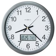 HOWARD CLOCK WALL LCD DAY/DTE