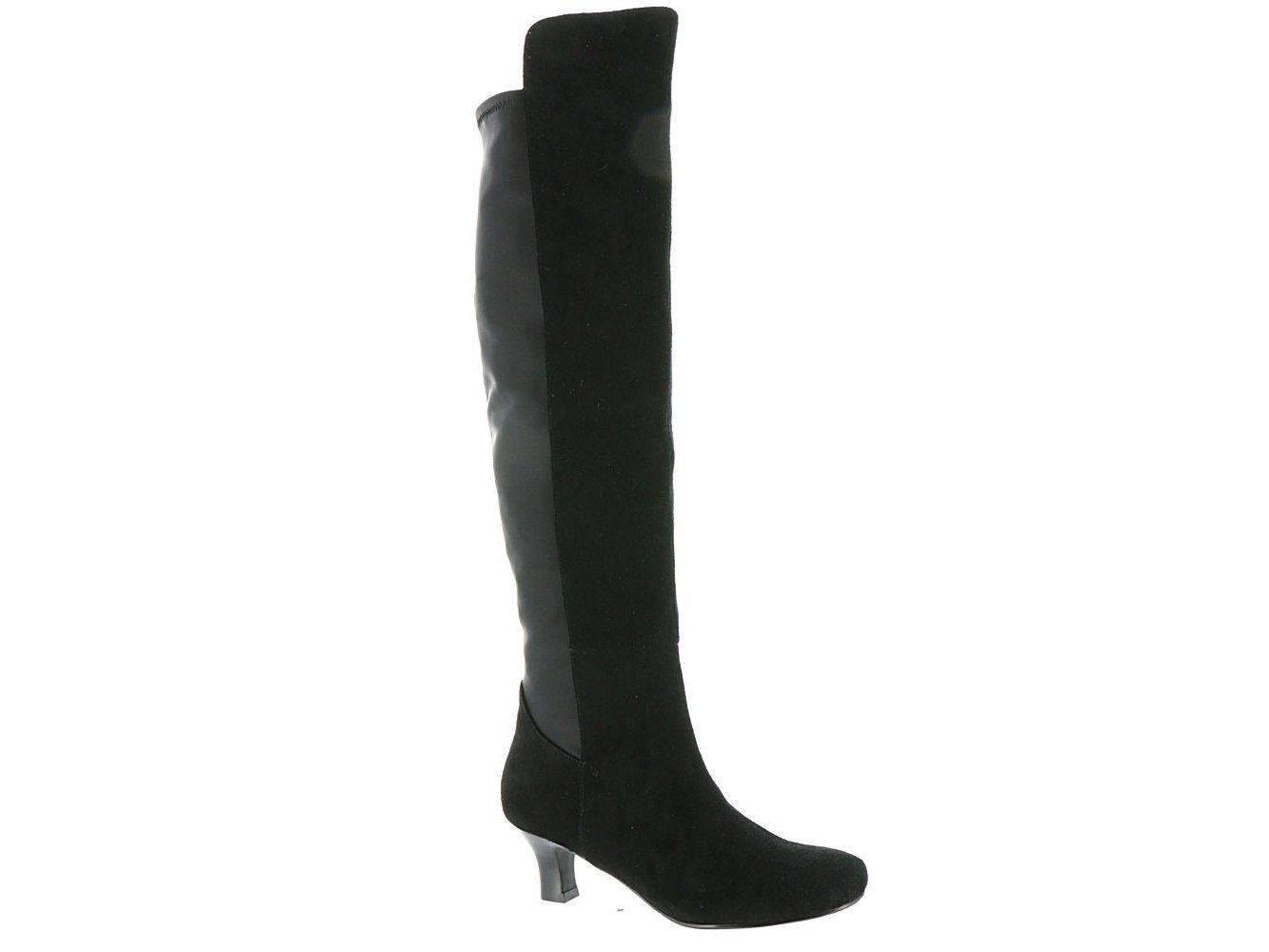 ARRAY Womens Adele Suede Closed Toe Over Knee Fashion Boots