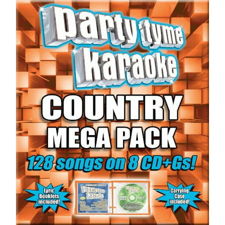 Party Tyme Karaoke: Country Mega Pack [8 Discs]