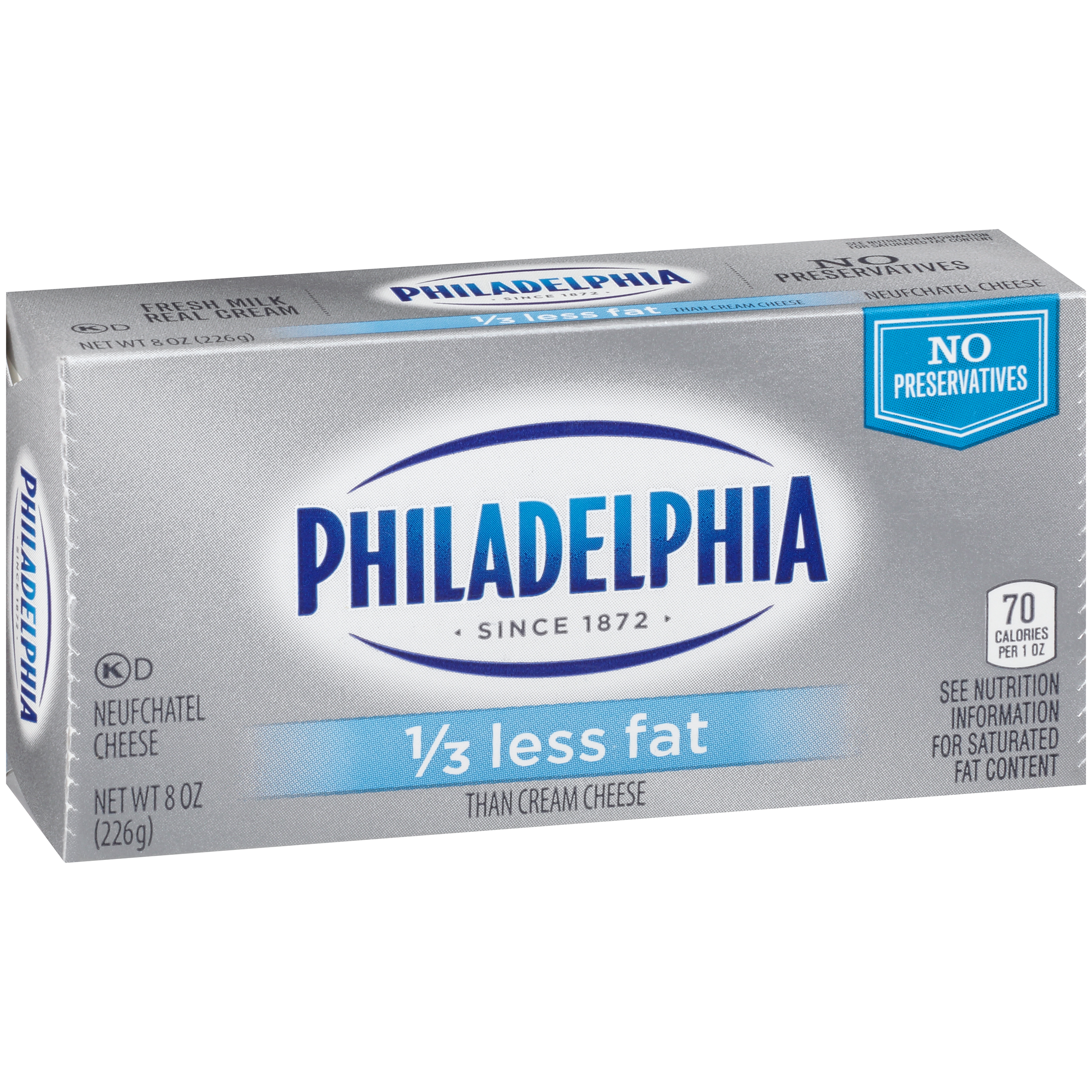 Philadelphia 1/3 Less Fat Cream Cheese