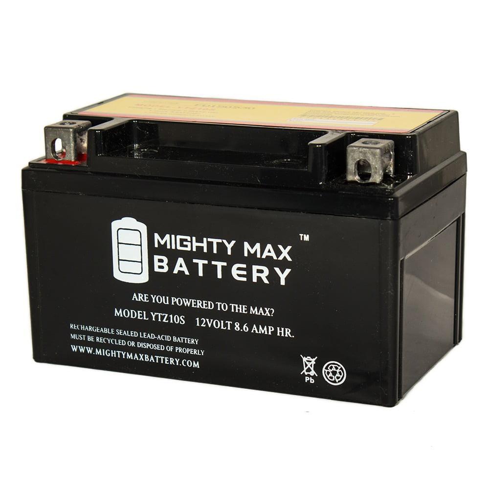 YTZ10S 12V 8.6AH Battery for Motorcycle MV Agusta Brutale 06-09 910