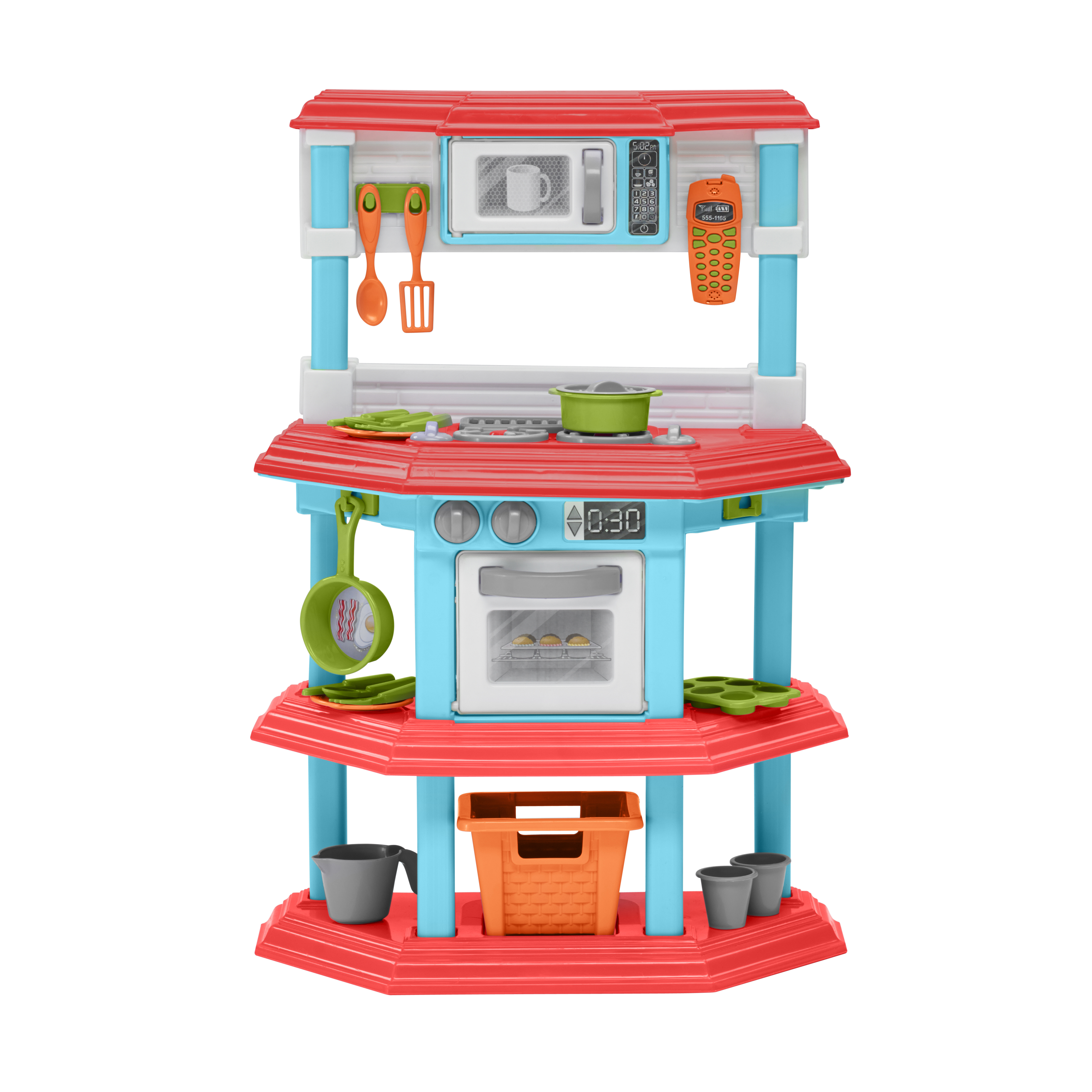 Charmant American Plastic Toys My Very Own Gourmet Kitchen   Walmart.com
