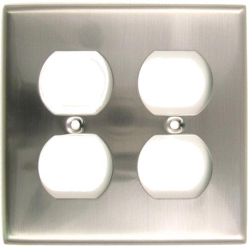 Rusticware  786  Wall Plates  Builders Hardware  Wall Controls  Outlet Plates  ;Satin Nickel