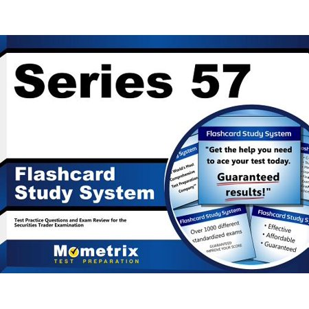 Series 57 Exam Flashcard Study System: Series 57 Test Practice Questions & Review for the Securities Trader Qualification Examination Security Card Series