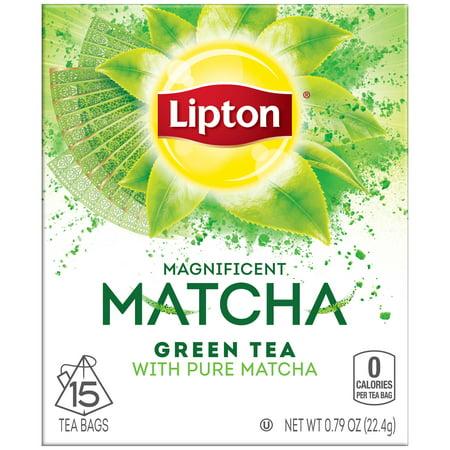 Lipton Pure Matcha Green Tea Bags 15 Ct