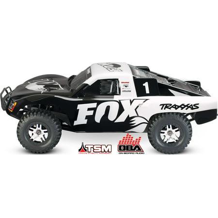 Traxxas Slash Fox Edition 68086-24 w/On Board Audio, TSM, & No Battery or