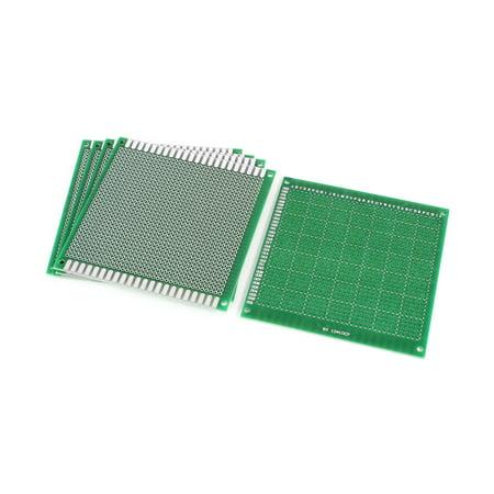 5 pcs 10cm x 10cm FR-4 un c té Prototype universelle PCB Circuit d'impression Carte DIY - image 1 de 1