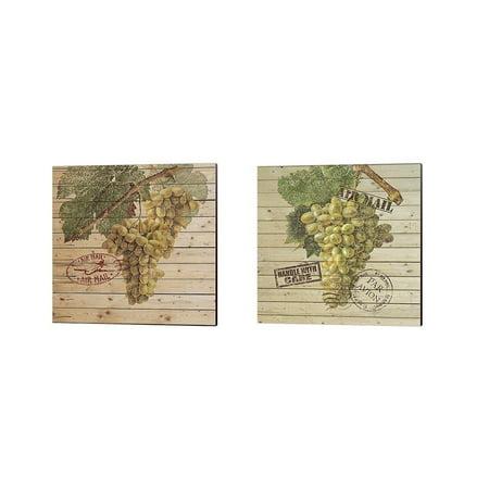 Metaverse Nobleworks Inc. 'Grape Crate B' Canvas Art (Set of - Grape Crate