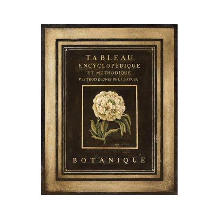 Les Fleurs de Paris II Print Wall Art By Kimberly Poloson - Fleur De Lis Plaque